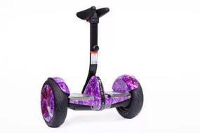 Гироскутер мини-сигвей NineBot PRO replika (mini robot) фиолетовая молния