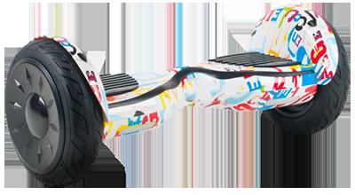 Гироскутер Smart Balance Wheel SUV 10.5 Premium с колонками + самобалансир оранж граффити