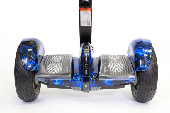Гироскутер мини-сигвей NineBot PRO replika (mini robot) голубой огонь