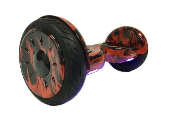 Гироскутер Smart Balance Wheel SUV 10.5 Premium с колонками + самобалансир оранжевый огонь
