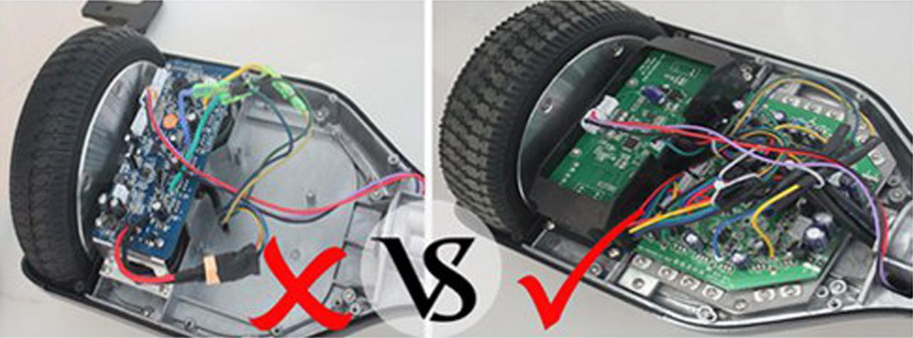 как отличить подделку гироскутера от оригинала Smart Balance?