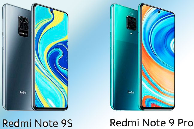 Xiaomi Redmi Note 9s и Note 9 Pro – что лучше?