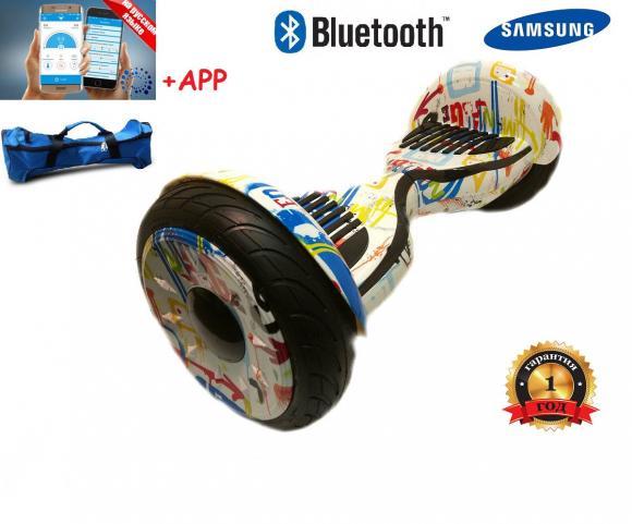 Гироскутер Smart Balance Wheel SUV 10.5 Premium с колонками + самобалансир хип-хоп
