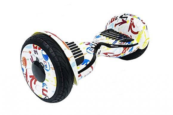 Гироскутер Smart Balance Wheel SUV 10.5 Premium с колонками + самобалансир граффити