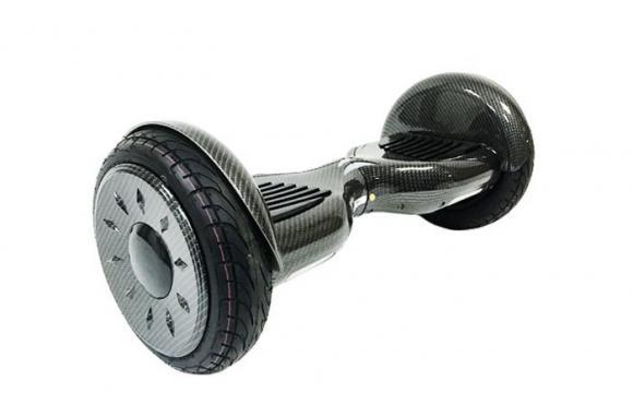 Гироскутер Smart Balance Wheel SUV 10.5 Premium с колонками + самобалансир черный карбон