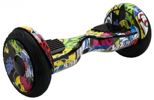 Гироскутер Smart Balance Wheel SUV 10.5 Premium с колонками + самобалансир джунгли