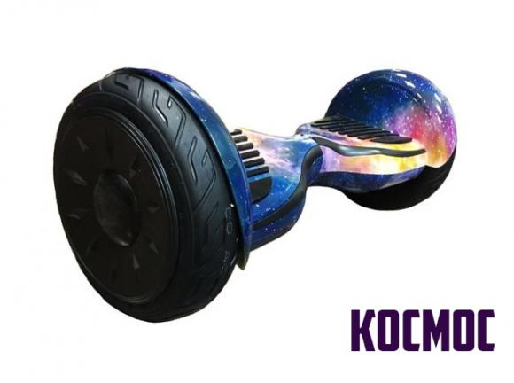 Гироскутер Smart Balance Wheel SUV 10.5 Premium с колонками + самобалансир космос фиолетовый