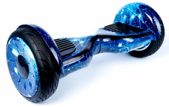 Гироскутер Smart Balance Wheel SUV 10.5 Premium с колонками + самобалансир синий огонь