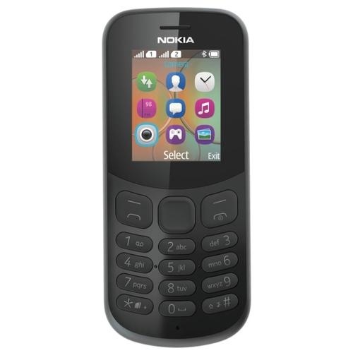 Мобильный телефон Nokia 130 DS 2017 Black (TA-1017)