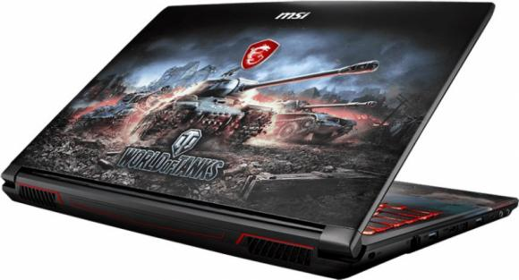 "MSI GP62M 7REX-2092XRU WOT Edition 15.6"" Black (9S7-16J9E2-2092)"