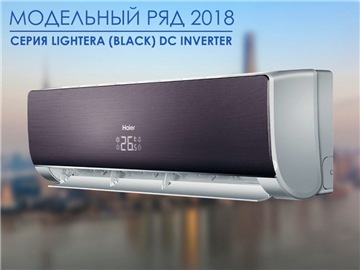 Кондиционер Haier LIGHTERA AS18NS4ERA-B/1U18BS3ERA DC Inverter Super Match