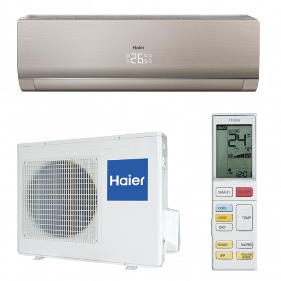 Кондиционер Haier LIGHTERA AS24NS3ERA-G/U24GS1ERA DC Inverter Super Match