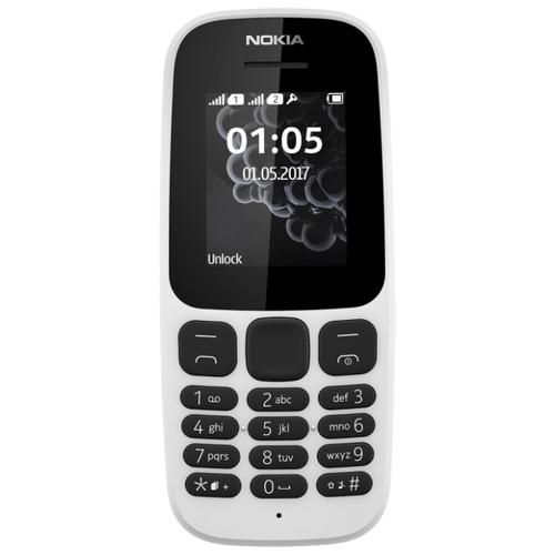Мобильный телефон Nokia 105 SS (2017) White