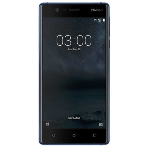Смартфон Nokia 3 DS Blue