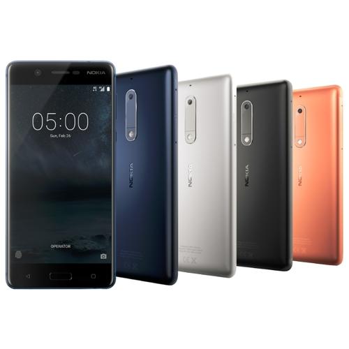 Смартфон Nokia 5 DS Matte Black