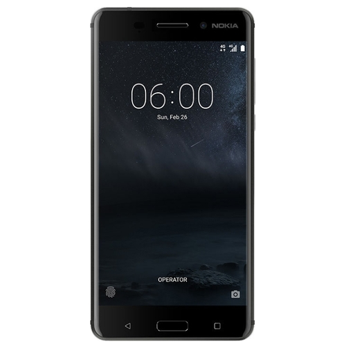 Смартфон Nokia 6 DS Matte Black