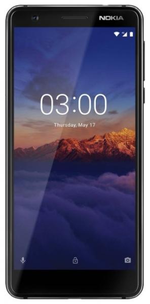 Смартфон Nokia 3.1 DS Black