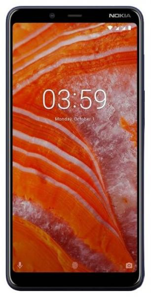 Смартфон Nokia 3.1 DS Plus Blue
