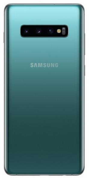 Смартфон Samsung Galaxy S10+ G975 8/128Gb Аквамарин