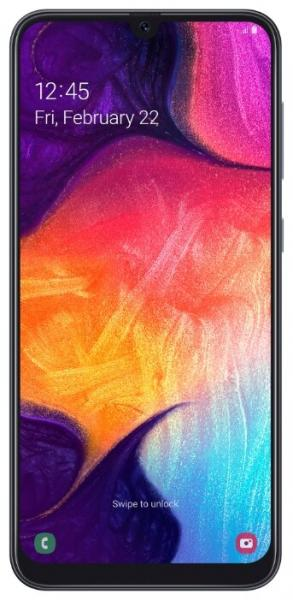 Смартфон Samsung A505 Galaxy A50 6/128Gb Black