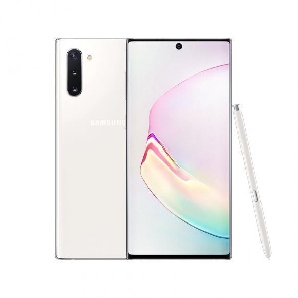 Смартфон Samsung Galaxy Note 10 256 ГБ белый