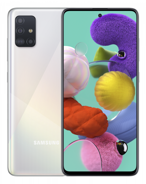 Смартфон Samsung Galaxy A51 2020 A515F 6/128GB White