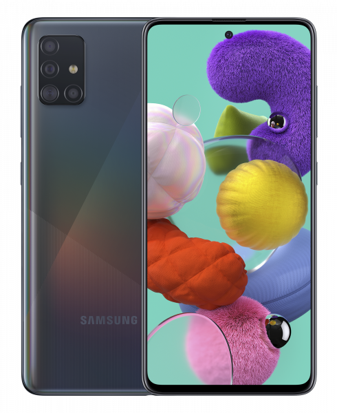 Смартфон Samsung Galaxy A51 2020 A515F 6/128GB Black