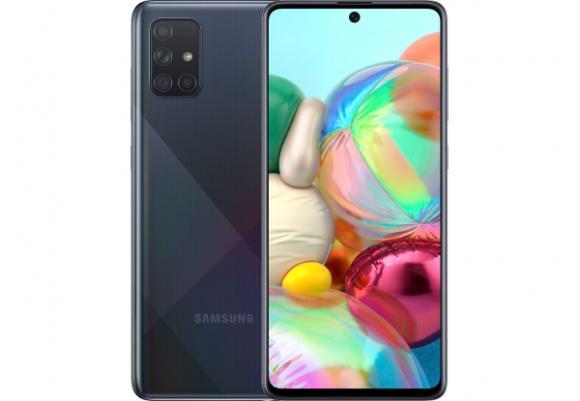 Смартфон Samsung Galaxy A71 2020 A715F 6/128Gb Black