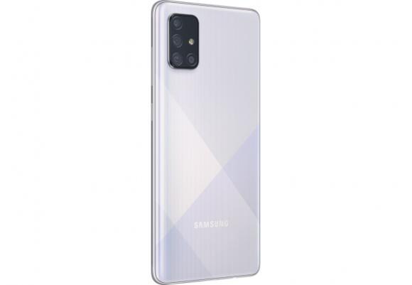 Смартфон Samsung Galaxy A71 2020 A715F 6/128Gb Silver