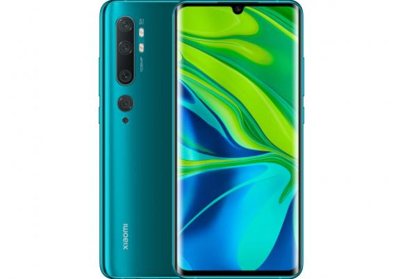 Смартфон Xiaomi Mi Note 10 6/128GB Aurora Green