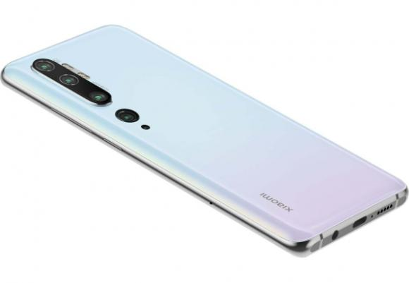 Смартфон Xiaomi Mi Note 10 6/128GB Glacier White