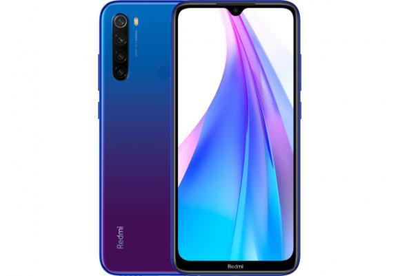 Смартфон Xiaomi Redmi Note 8T 3/32Gb Starscape Blue