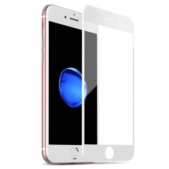 Защитное стекло тех.упак. 5D/6D/10D iPhone 7/8 Белый