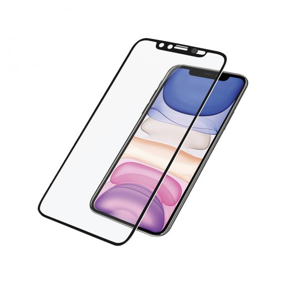 Защитное стекло для iPhone XR 10D Slim тех/пак (black)