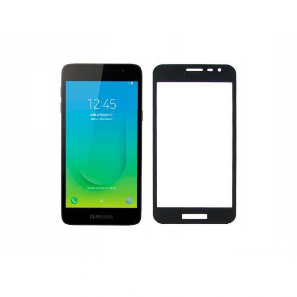Защитное стекло тех.упак. 5D/6D Full Glue Premium Samsung J260 (J2 Core 2019) Черный