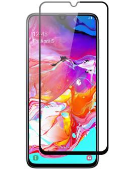 Защитное стекло BoraSCO 3D для Samsung Galaxy A40 Черная рамка