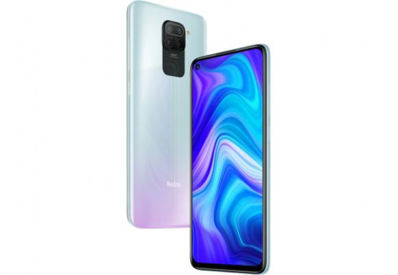Смартфон Xiaomi Redmi Note 9 4/128GB Polar White