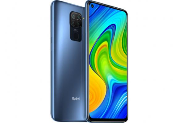Смартфон Xiaomi Redmi Note 9 4/128GB Midnight Grey