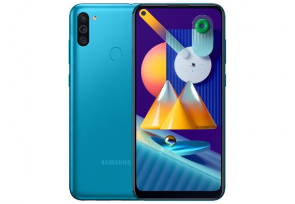 Смартфон Samsung Galaxy M11 2020 M115F 3/32Gb Blue