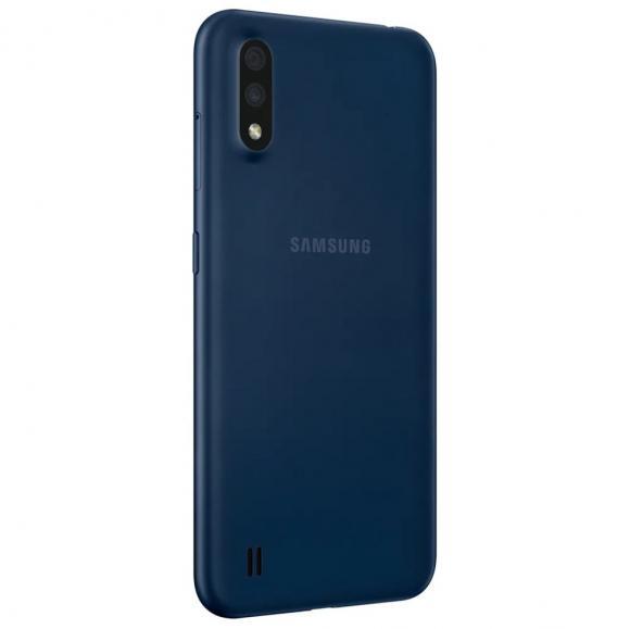 Смартфон Samsung SM-M015F Galaxy M01 32 ГБ синий