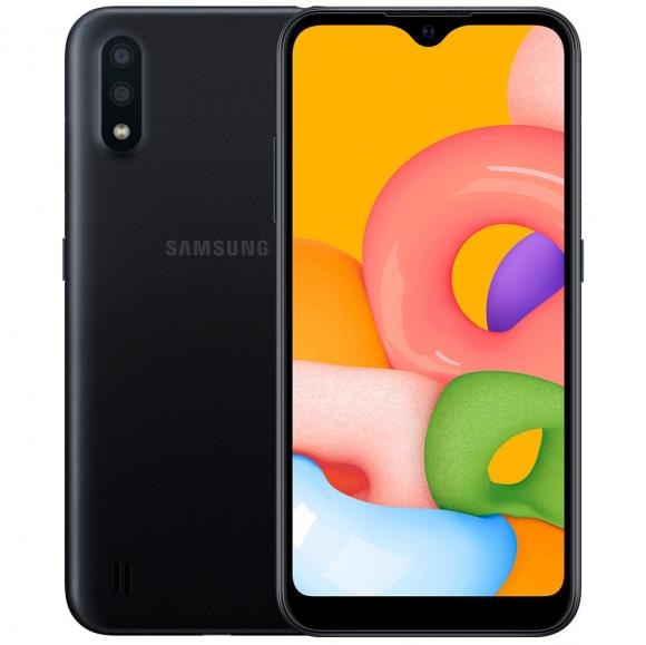 Смартфон Samsung SM-M015F Galaxy M01 32 ГБ черный