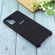 Чехол Silicone case для Samsung A51 2020 черный (18)
