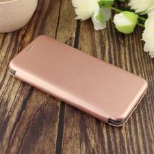 Чехол-книга для Samsung A51 (2020)/отдел под пластик.карту,силикон/ розовое золото