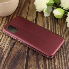 Чехол-книга для Samsung A51 (2020)/отдел под пластик.карту,силикон/ бордовый