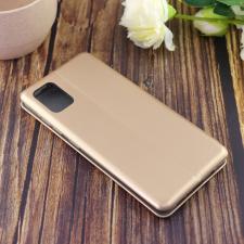 Чехол-книга для Samsung A51 (2020)/отдел под пластик.карту,силикон/ золото