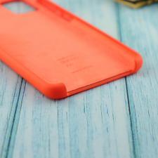 Чехол Silicone case для Samsung A51 2020 абрикос (2)