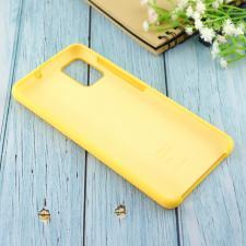 Чехол Silicone case для Samsung A51 2020 жёлтый (4)