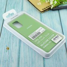 Чехол Silicone case для Samsung A51 2020 мятный (1)