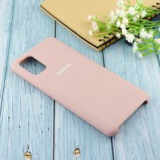 Чехол Silicone case для Samsung A51 2020 пудровый (19)
