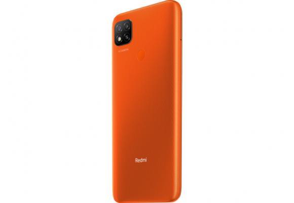 Смартфон Xiaomi Redmi 9C 64GB Orange (РСТ)